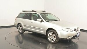 2007 Subaru Outback B4A MY07 AWD Silver 4 Speed Sports Automatic Wagon Victoria Park Victoria Park Area Preview