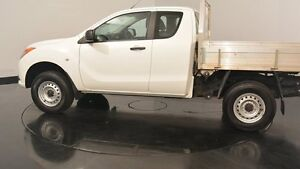2012 Mazda BT-50 UP0YF1 XT Freestyle 4x2 Hi-Rider White 6 Speed Manual Cab Chassis Welshpool Canning Area Preview