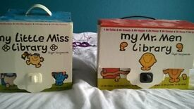 Mr men and Little miss complete collection