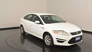 2014 Ford Mondeo MC LX PwrShift TDCi White 6 Speed Sports Automatic Dual Clutch Hatchback Victoria Park Victoria Park Area Preview