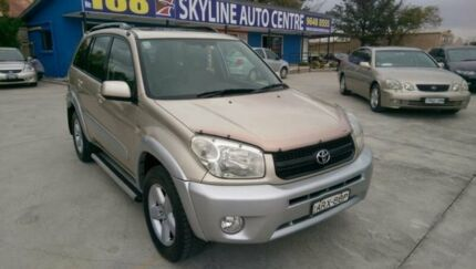 2004 Toyota RAV4 Cruiser Champagne Automatic Silverwater Auburn Area Preview