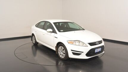 2012 Ford Mondeo MC LX PwrShift TDCi White 6 Speed Sports Automatic Dual Clutch Hatchback