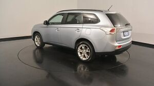 2014 Mitsubishi Outlander ZJ MY14.5 LS 2WD Silver & Chrome 6 Speed Constant Variable Wagon Welshpool Canning Area Preview