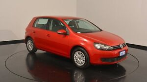 2011 Volkswagen Golf VI MY12 77TSI DSG Red 7 Speed Sports Automatic Dual Clutch Hatchback Welshpool Canning Area Preview