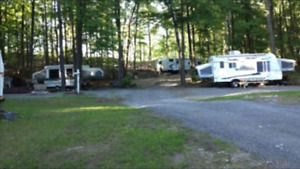 Family Campground on White Lake with Seasonal Trailer Sites