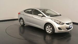 2011 Hyundai Elantra MD Active Sleek Silver 6 Speed Sports Automatic Sedan Welshpool Canning Area Preview