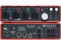 Focusrite Scarlett 18i8 USB Audio Interface 1st Gen Brand New unopened