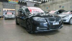 2011 BMW 320i E91 MY11 Touring Lifestyle Black 6 Speed Auto Steptronic Wagon Mordialloc Kingston Area Preview