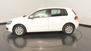 2012 Volkswagen Golf VI MY12.5 90TSI DSG Trendline Candy White 7 Speed Sports Automatic Dual Clutch
