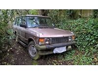 Classic Range Rover wanted for spares or restoration anything considered