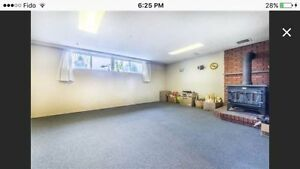 Basement for rent-Sep 1st-Etobicoke(Close to highway&Subway)