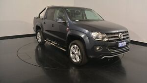 2012 Volkswagen Amarok 2H MY13 TDI420 4Motion Perm Ultimate Black 8 Speed Automatic Utility Welshpool Canning Area Preview