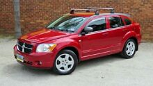 2008 Dodge Caliber PM SXT Red 6 Speed Continuous Variable Hatchback Upper Ferntree Gully Knox Area Preview