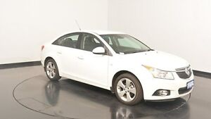 2014 Holden Cruze JH Series II MY14 Equipe Heron White 6 Speed Sports Automatic Sedan Victoria Park Victoria Park Area Preview