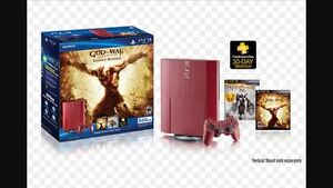 PS3 God of War Edition CONSOLE