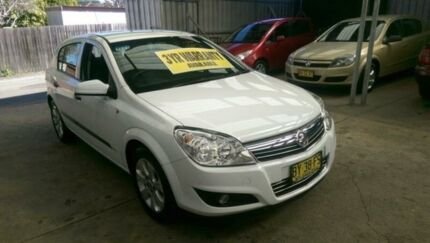 2008 Holden Astra AH MY08.5 60th Anniversary White 4 Speed Automatic Hatchback Lidcombe Auburn Area Preview