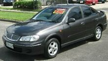 2001 Nissan Pulsar N16 Q Grey 4 Speed Automatic Sedan Bungalow Cairns City Preview