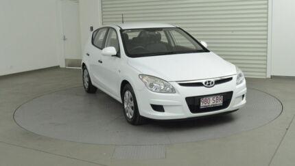 2008 Hyundai i30 FD SX White 4 Speed Automatic Hatchback Robina Gold Coast South Preview