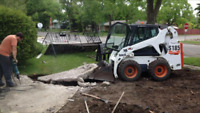 bobcat services / landscaping / demolition