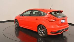 2015 Ford Focus LZ ST Candy Red 6 Speed Manual Hatchback Victoria Park Victoria Park Area Preview