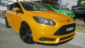 2013 Ford Focus LW MK2 ST Orange 6 Speed Manual Hatchback Homebush Strathfield Area Preview