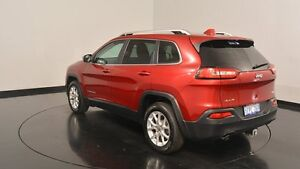 2014 Jeep Cherokee KL MY15 Longitude Cherry 9 Speed Sports Automatic Wagon Victoria Park Victoria Park Area Preview