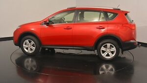 2013 Toyota RAV4 ASA44R MY14 Cruiser AWD Red 6 Speed Sports Automatic Wagon Victoria Park Victoria Park Area Preview