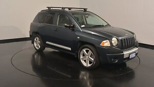 2008 Jeep Compass MK Limited Steel Blue 6 Speed Manual Wagon Victoria Park Victoria Park Area Preview