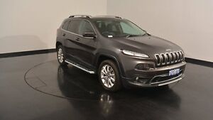 2015 Jeep Cherokee KL MY15 Limited Granite Crystal Metallic 9 Speed Sports Automatic Wagon Victoria Park Victoria Park Area Preview