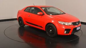 2010 Kia Cerato TD MY10 Koup Red 5 Speed Manual Coupe Victoria Park Victoria Park Area Preview