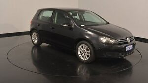 2010 Volkswagen Golf VI MY11 103TDI DSG Comfortline Deep Black 6 Speed Sports Automatic Dual Clutch Welshpool Canning Area Preview