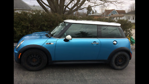 2003 MINI Mini Cooper S BLUE Coupe (2 door)