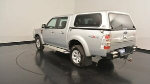 2011 Ford Ranger PK XLT Crew Cab Silver 5 Speed Automatic Utility Victoria Park Victoria Park Area Preview