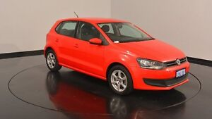 2010 Volkswagen Polo 6R 77TSI DSG Comfortline Red 7 Speed Sports Automatic Dual Clutch Hatchback Welshpool Canning Area Preview