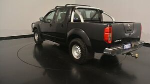 2011 Nissan Navara D40 MY11 RX Black 5 Speed Automatic Utility Welshpool Canning Area Preview