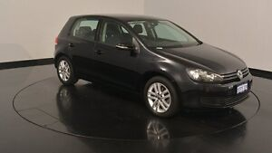 2012 Volkswagen Golf VI MY13 103TDI DSG Comfortline Black 6 Speed Sports Automatic Dual Clutch Welshpool Canning Area Preview