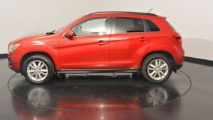 2013 Mitsubishi ASX XB MY13 Aspire 2WD Red 6 Speed Constant Variable Wagon