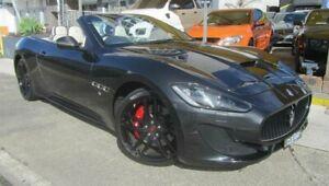 2018 Maserati GranCabrio MY16 Sport Black 6 Speed Automatic Convertible Homebush Strathfield Area Preview