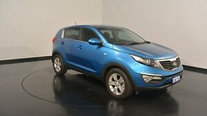 2014 Kia Sportage SL MY14 Si 2WD Blue 6 Speed Sports Automatic Wagon Victoria Park Victoria Park Area Preview