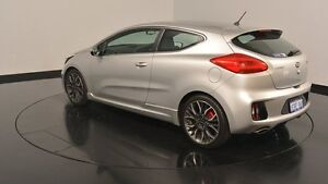 2013 Kia Pro_ceed JD MY14 GT Machine Silver 6 Speed Manual Hatchback Victoria Park Victoria Park Area Preview