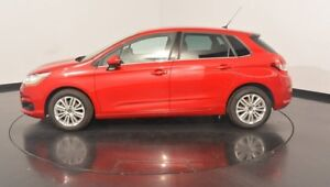 2014 Citroen C4 B7 Seduction Red 4 Speed Sports Automatic Hatchback