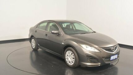 2010 Mazda 6 GH1051 MY09 Classic Grey 5 Speed Sports Automatic Hatchback