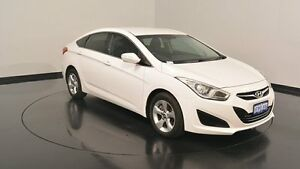 2014 Hyundai i40 VF2 Active Ceramic White 6 Speed Sports Automatic Sedan Welshpool Canning Area Preview