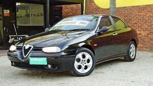 2001 Alfa Romeo 156 MY2001 Sport Selespeed Black 5 Speed Seq Manual Auto-Clutch Sedan Upper Ferntree Gully Knox Area Preview