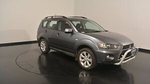 2012 Mitsubishi Outlander ZH MY12 Activ 2WD Grey 6 Speed Constant Variable Wagon Welshpool Canning Area Preview