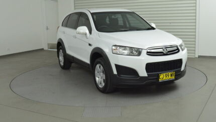 2015 Holden Captiva CG MY15 7 LS White 6 Speed Sports Automatic Wagon Southport Gold Coast City Preview