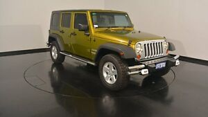 2008 Jeep Wrangler JK Unlimited Sport Green 4 Speed Automatic Softtop Welshpool Canning Area Preview