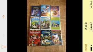 Kid's movies selling together