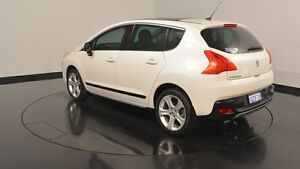 2012 Peugeot 3008 T8 MY12 Allure SUV White 6 Speed Sports Automatic Hatchback Victoria Park Victoria Park Area Preview