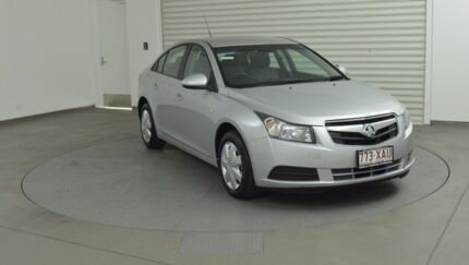2010 Holden Cruze JG CD Silver 5 Speed Manual Sedan Southport Gold Coast City Preview